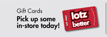 Gift Cards Pick up some in-store today!